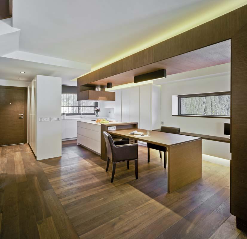 Cocinas madera natural - Cocinas comedor modernas ...
